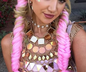 coachella festival, grunge icon, and eyes eyebrows brows image