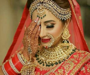 jewelry, shaadi, and nose ring image