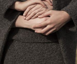 hands and model image