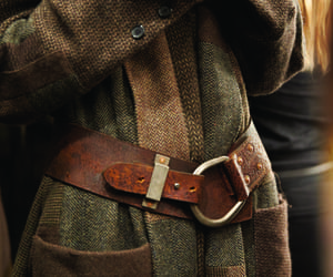 winter, brown, and fashion image