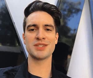 brendon urie, funny face, and gif image