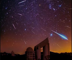 china, meteor shower, and geminid image
