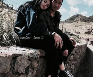 couple, maggie lindemann, and brennen image