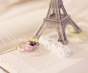 love, eiffel tower, and paris image