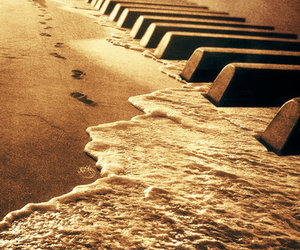piano, music, and beach image
