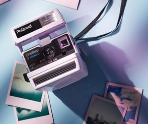 aesthetic, polaroid, and photography image