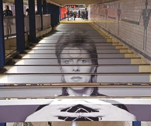 bowie, david bowie, and nyc image