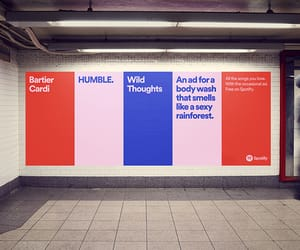 mad men, outdoor advertising, and spotify image