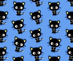 blue, chococat, and patron image