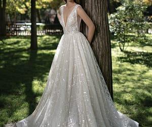 bohemian, vintage wedding dress, and wedding photography image