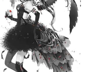 anime girl, madoka magica, and akemi homura image