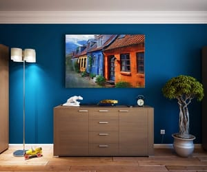 home kitchen remodeling, plaster painting brooklyn, and interior painting image