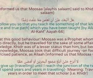 Prophet Musa A S & Khidr on We Heart It
