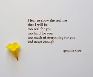 quotes, beautiful, and gemma image