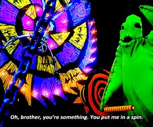 autumn, gif, and the nightmare before christmas image