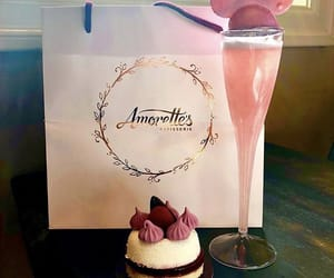bakery, champagne, and chocolate image