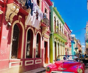 bright, colors, and cuba image