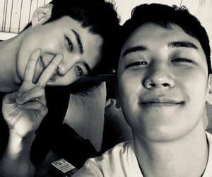 exo, big bang, and seungri image