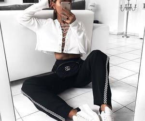 black, fashion, and iphone image