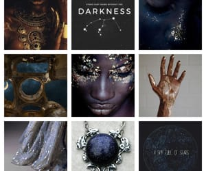 books, inspiration, and constellations image