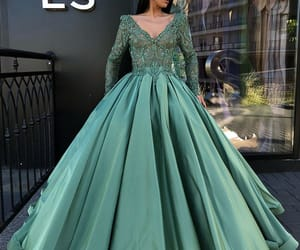 ball gown, Couture, and evening gown image