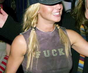 britney spears, fuck shirt, and bitch is your ass image
