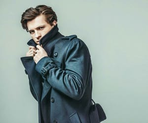 actor, spiderman, and tom holland image