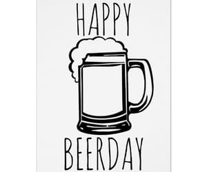 beer, cards, and birthday image