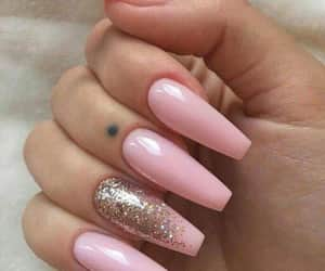 aesthetic, long nails, and nails image