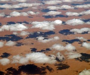 Clouds over the Sahara, In Amenas, Algeria-Libya border region (N27 50/E009 31) photo - Brian McMorrow photos at pbase.com