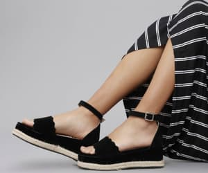 black shoes, cute shoes, and fashion image