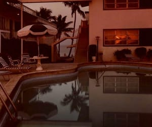 pool, vintage, and aesthetic image