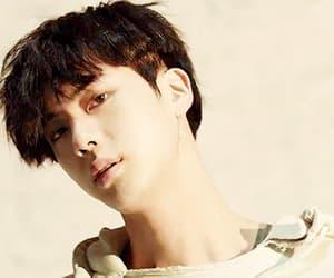 gif, kim seok jin, and fake love image