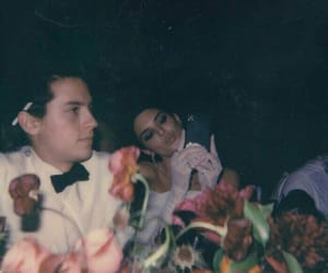 cole sprouse, kendall jenner, and vintage image