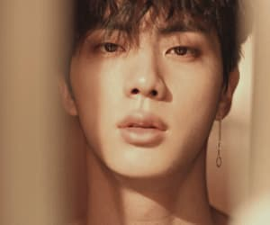 bts, jin, and gif image