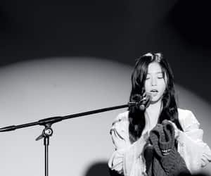 black and white, dreamcatcher, and 김민지 image