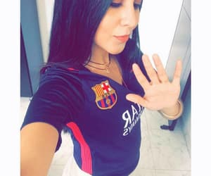 Barca, fans, and fashion image