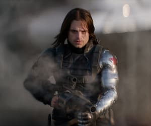 captain america, Marvel, and sebastian stan image