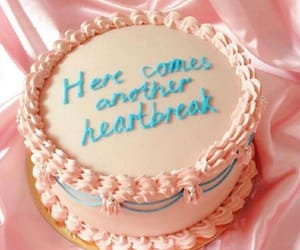 cake, funny, and heart broken image
