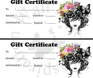 etsy, gift certificate, and hairdresser image
