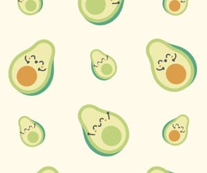 avocado and wallpaper image