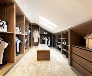 walk in closet, bespoke furniture, and fitted bedroom furniture image