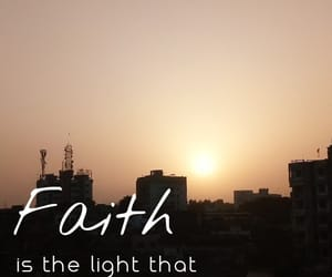faith, just words, and quote image