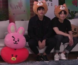 taehyung, vkook, and bts image