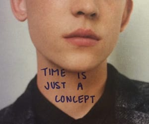 time, quotes, and boy image