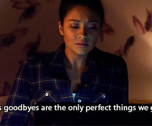 pretty little liars, goodbye, and pll image