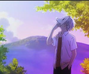 anime, hotarubi no mori e, and gif image