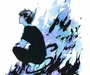 rin, ao no exorcist, and blue exorcist image