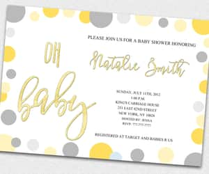 baby shower, gender neutral, and pink baby shower image