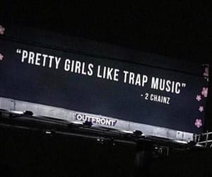 girl, music, and trap image